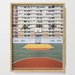 Basketball Court Serving Tray