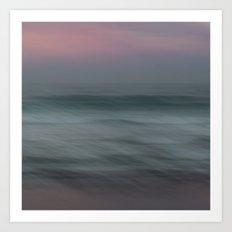 The Sea, the sea Art Print
