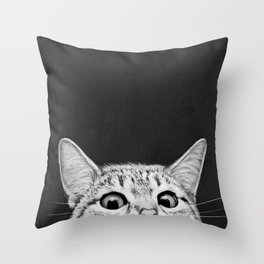 You asleep yet? Throw Pillow