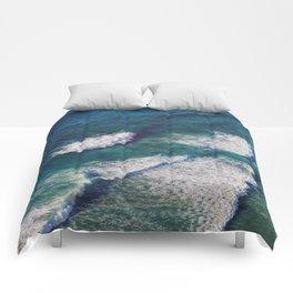 Waves Crashing Comforters