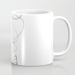 Lovers - Minimal Line Drawing Art Print 2 Coffee Mug