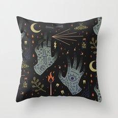 A Curse Upon You! Throw Pillow