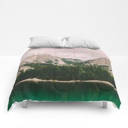 Braies Lake #3 Comforters