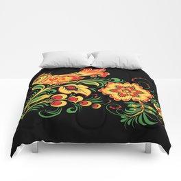 Russian Folks Art  Comforters