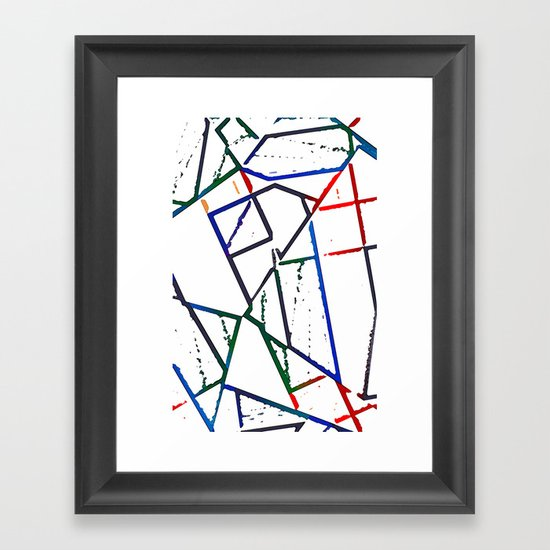 Altered Framed Art Print