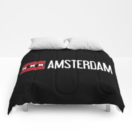 Netherlands: Amsterdam Flag & Amsterdam Comforters