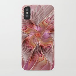 Abstract Butterfly, Fantasy Fractal iPhone Case