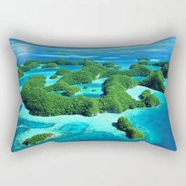 Palau Island Paradise Rectangular Pillow