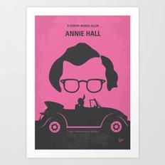 No147 My Annie Hall minimal movie poster Art Print