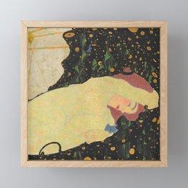 "Egon Schiele ""Daneae"" Framed Mini Art Print"