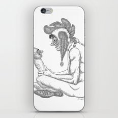 The Defamation of Normal Rockwell I (NSFW) iPhone & iPod Skin