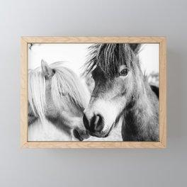 Almo and Billy Bear Framed Mini Art Print