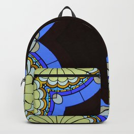 Abstract Tile Backpack