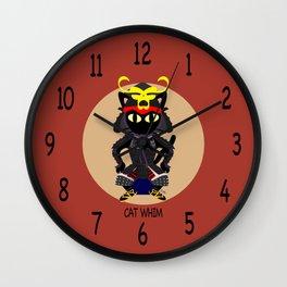 Cat Army Wall Clock