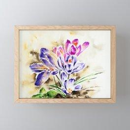 Spring perfume Framed Mini Art Print