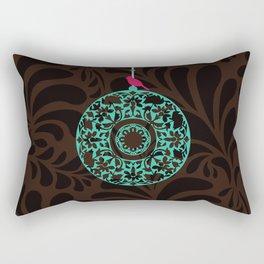 Mughal Chime Pattern Rectangular Pillow