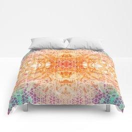 Colored Garden Comforters
