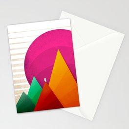 067 - Autumn sunrise Stationery Cards