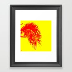 palm design Framed Art Print