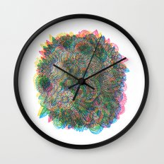 Hallucinations Wall Clock