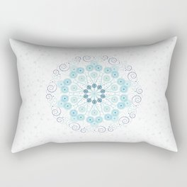 Spring breeze mandala Rectangular Pillow