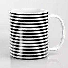 Stripe Black And White Vertical Line Bold Minimalism Stripes Lines Coffee Mug