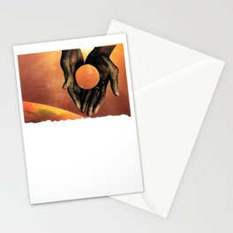zero point w tear in space Stationery Cards
