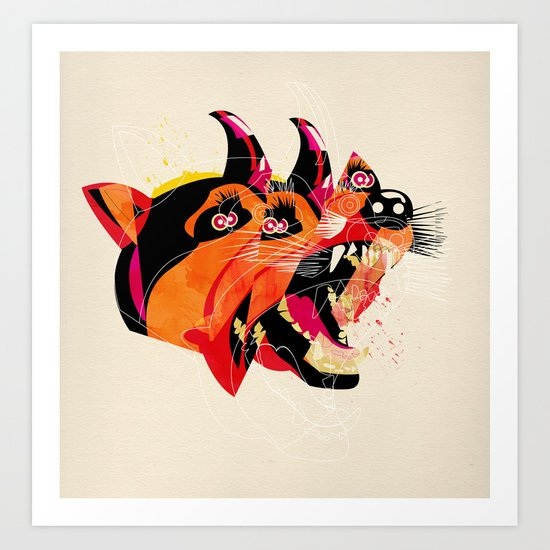 can/can Art Print