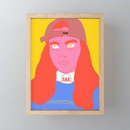 I'm fine Framed Mini Art Print