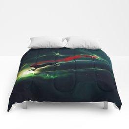 WOLF - Breaking Red Comforters