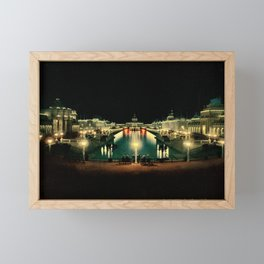 Estate The Grand Court Framed Mini Art Print