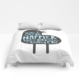 The French Fry Bird Comforters