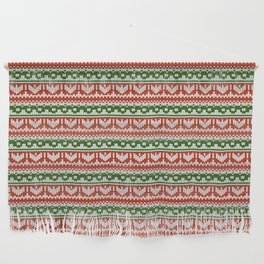 Abstract pattern: christmas Wall Hanging