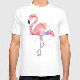 Flamingo Watercolor T-shirt
