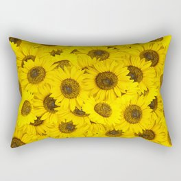 Lots of sunflowers Rectangular Pillow