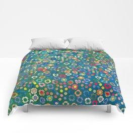 dp065-3 floral pattern Comforters