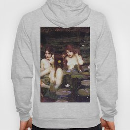 HYLAS AND THE NYMPHS - WATERHOUSE Hoody