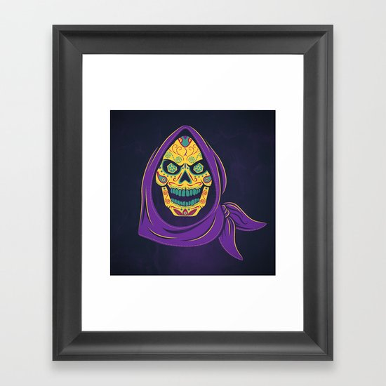 Señor de Destrucción Framed Art Print
