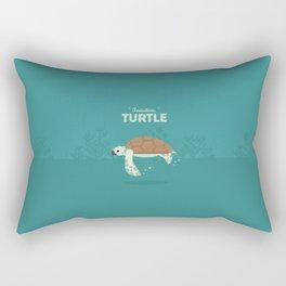 The Sea turtle Rectangular Pillow