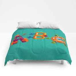 ABC Living Letters Originals Comforters
