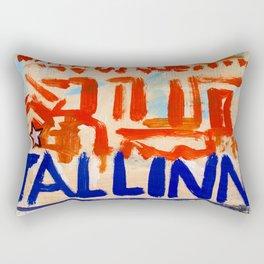 European Capital - Tallinn Rectangular Pillow