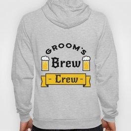 Groom Funny Groom's Brew Crew Hoody