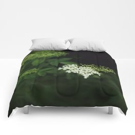 A bunch of lonesome flowers Comforters