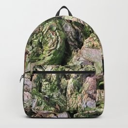 Deeply Green Grooves Backpack