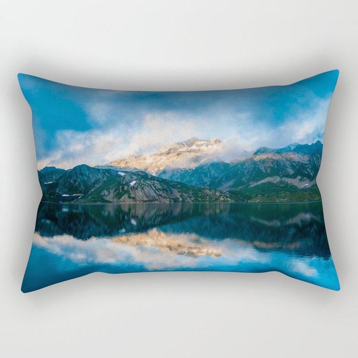 Mountain High Rectangular Pillow