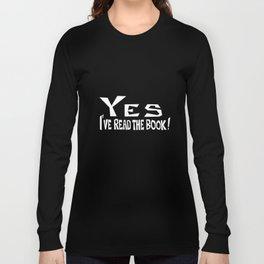 Fastidious Fan I (for dark shirts) Long Sleeve T-shirt