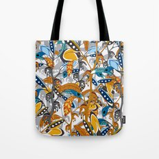 Multicolor Horse Feathers Tote Bag