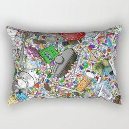 Addicted Rectangular Pillow