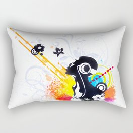 Feel Music Rectangular Pillow