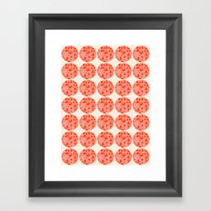 Tri Dots 2 Framed Art Print